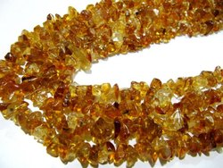 Natural Citrine Uncut Free Shape Chip Beads 8 To 12mm Strand 34inches Long