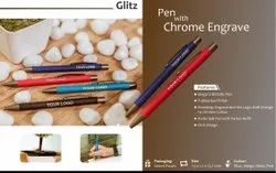 Glitz - Pen with Chrome Engrave