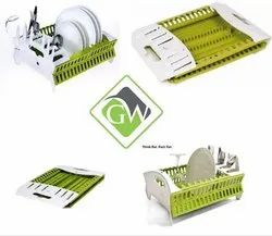 Collapsible Compact Fish Dish Rack