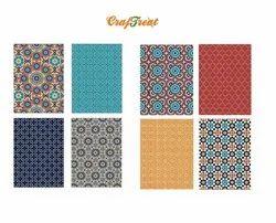 CrafTreat Decoupage Paper - Mosaic 1 & 2