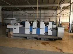 Royabi 524 h X.  Four Colour Offset Printing Machine