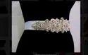 Western Wedding Dress Pearl Belt, Sash Cs166