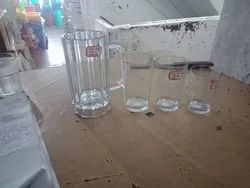 Transparent Polycarbonate Drinking Glass, For Home, Packaging Type: Boxes