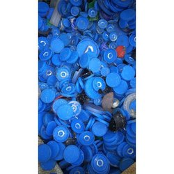 Blue PP Cap Plastic Scrap