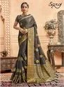 Designer Festive Wear Silk Jari Saree