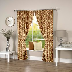 Leafy Coffee Curtain