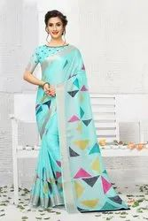 Pr Fashion Launched Lovely Semi-Casual Wear Saree