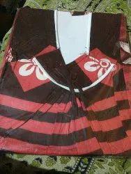 Casual Brown Cotton Maxi Dress