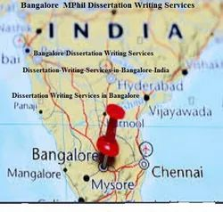 MPhil Dissertation Writing Services in Bangalore