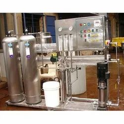 Stainless Steel RO Mineral Water Plant