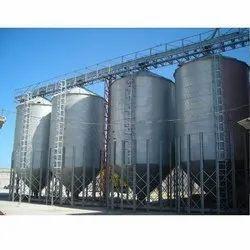 Mild Steel Storage Silo Container