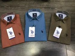 Collar Neck Mens Branded Casual Shirts