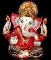 Mukut Ganesha Enamel