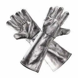 Full Aluminium Fabric Gloves