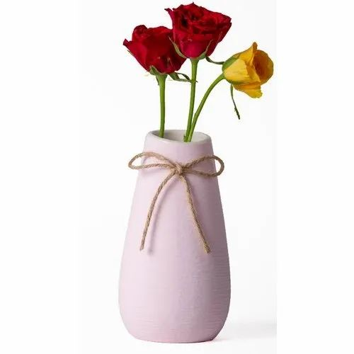 Ceramic Glossy Home Flower Vase Showpiece For Decoration Packaging Type Box Rs 800 Unit Id 21477301991