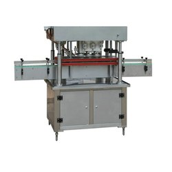 Flat Bottle Capping Machine