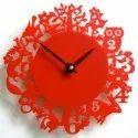 Decorative Round Acrylic Wall Clock