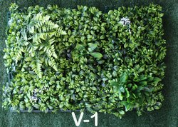 Wall Mounted Vertical Artificial Grass