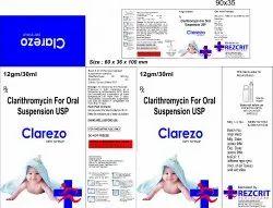 Clarithromycin Dry Syrup