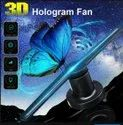 3D Holographic Fan Advertisement Logo Projector