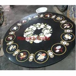 Black Marble Dining Tables