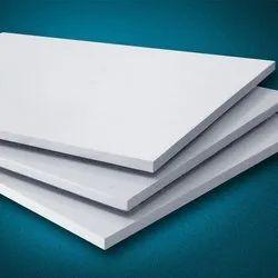 9 mm White PVC Board, Size: 8*4 Feet