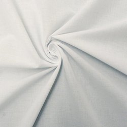 Plain 48 -108 White Cotton Voile Fabric, Packaging Type: Roll, GSM: 100-150 GSM