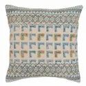 Embroidered Printed Accent Cushion Cover
