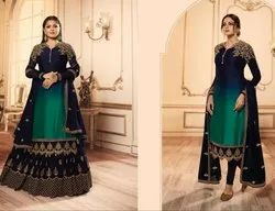 Exclusive Design with Lehenga and Churidar Combo