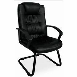 Synthetic Leather With Armrest Office Chair