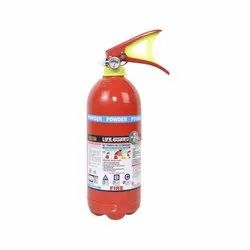 Mild Steel A B C Dry Powder Type Lifeguard Fire Extinguisher, Capacity: 2Kg, for Office, Industrial
