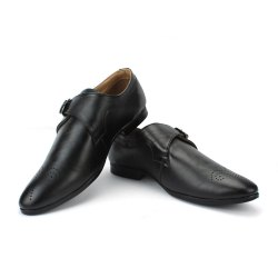 Forever Leathers Monk Shoe