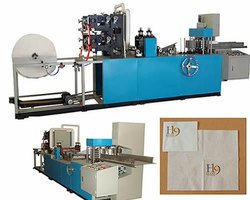 Single Phase Paper Napkin Embossing Machine