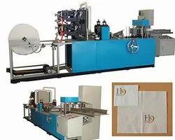 Single Phase Paper Napkin Embossing Machine