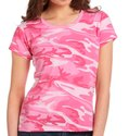 Cotton Round Womens Full Printed T Shirts