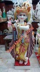 Marble Vrindavan Statue