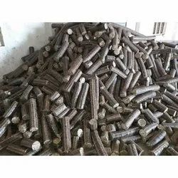 Cylindrical Solid Bio Coal, For Industrial, Packaging Type: Loose