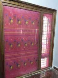 Window Sliding Printed Mosquito Net