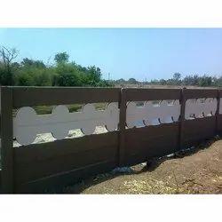 6 Feet Precast Boundary Wall
