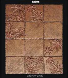 Ceramic Matte Zelos Handmade Resin Tiles, For Wall Decor Tiles, Thickness: 10-15 mm