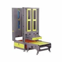 Dual Forks Pallet Dispenser
