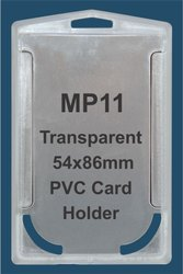 MP11 Transparent PVC Card Holder