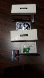 Plastic Gillette & Supermax Shaving Kit for Hotel