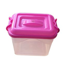 Lockable Plastic Container
