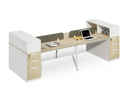 Modular Office Furniture Workstation I Four Seat Cubicle Workstation I MRK Furniture