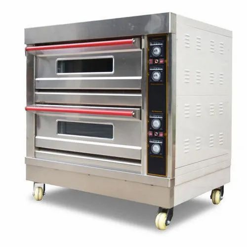 SS Pacific Electric 2 Deck 4 Tray Commercial Bakery Oven