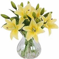 Artificial Yellow Lily