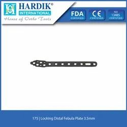Locking Distal Febula Plate 3.5mm