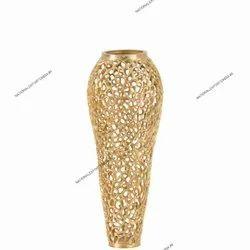 New Design Jali Aluminium Vase
