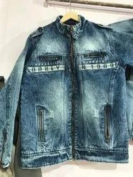 Full Sleeve Regular Fit Mens Denim Jacket